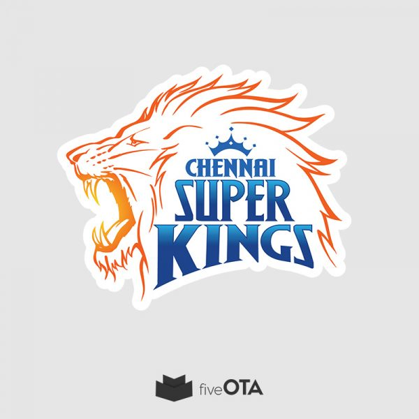 Chennai super kings sticker
