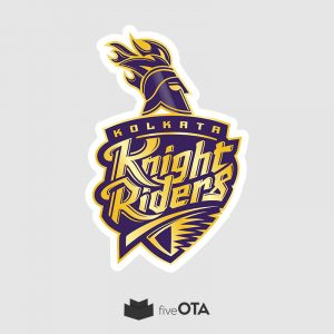 Kolkata Knight Riders sticker