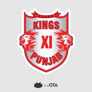 Kings XI Punjab sticker