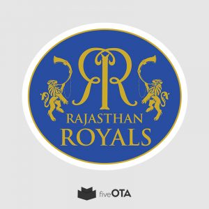 Rajasthan Royals sticker
