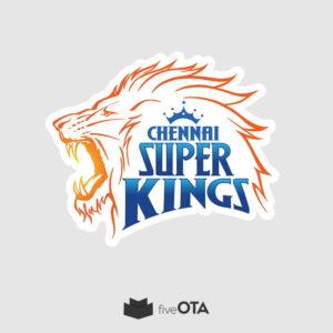 Chennai super kings sticker
