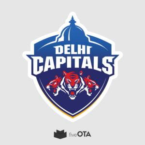 Delhi Capitals sticker