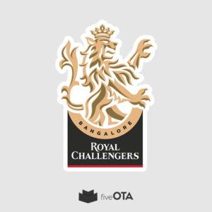 Royal Challengers Bangalore sticker