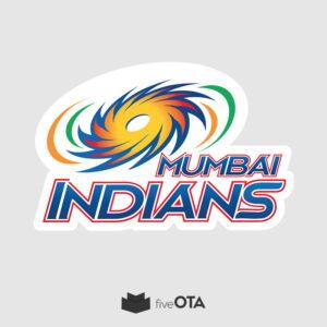 Mumbai Indians sticker