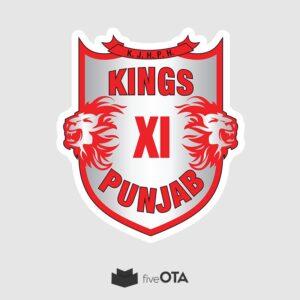 Kings XI Punjab sticker